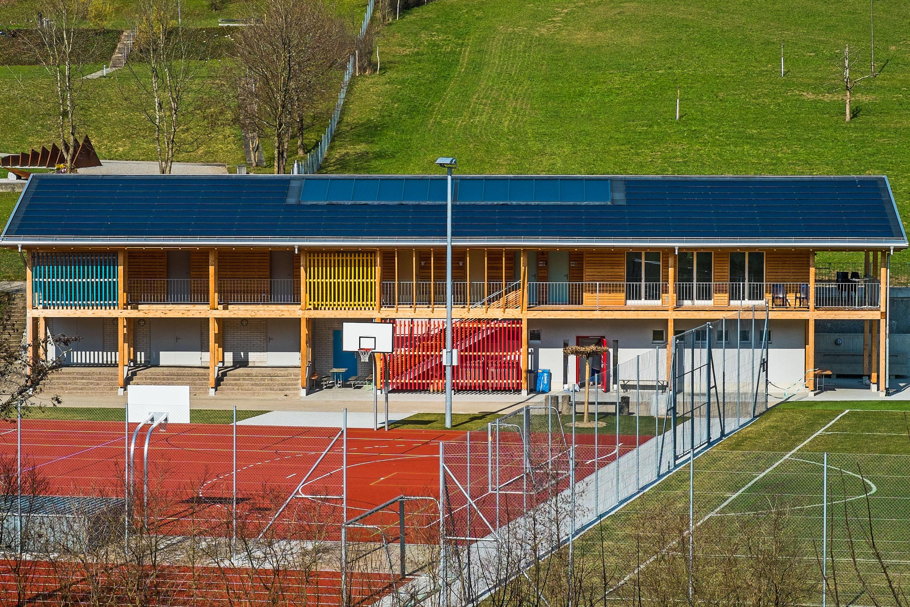 Anlage Säulistrom II (Eigentum von Gemeinde und Sekundarschule)
